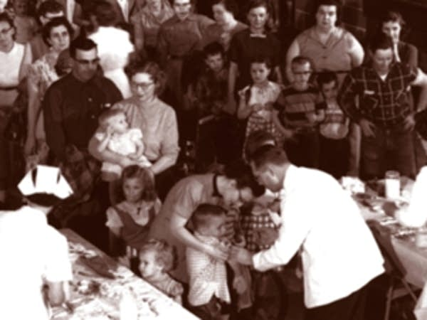 Polio vaccinations