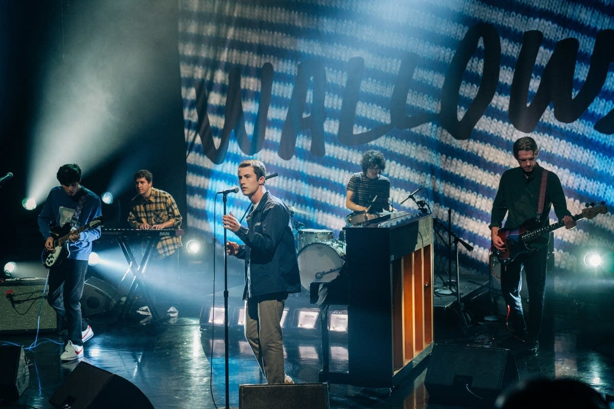 Wallows perform on 'The Late Late Show with James Corden' on CBS
