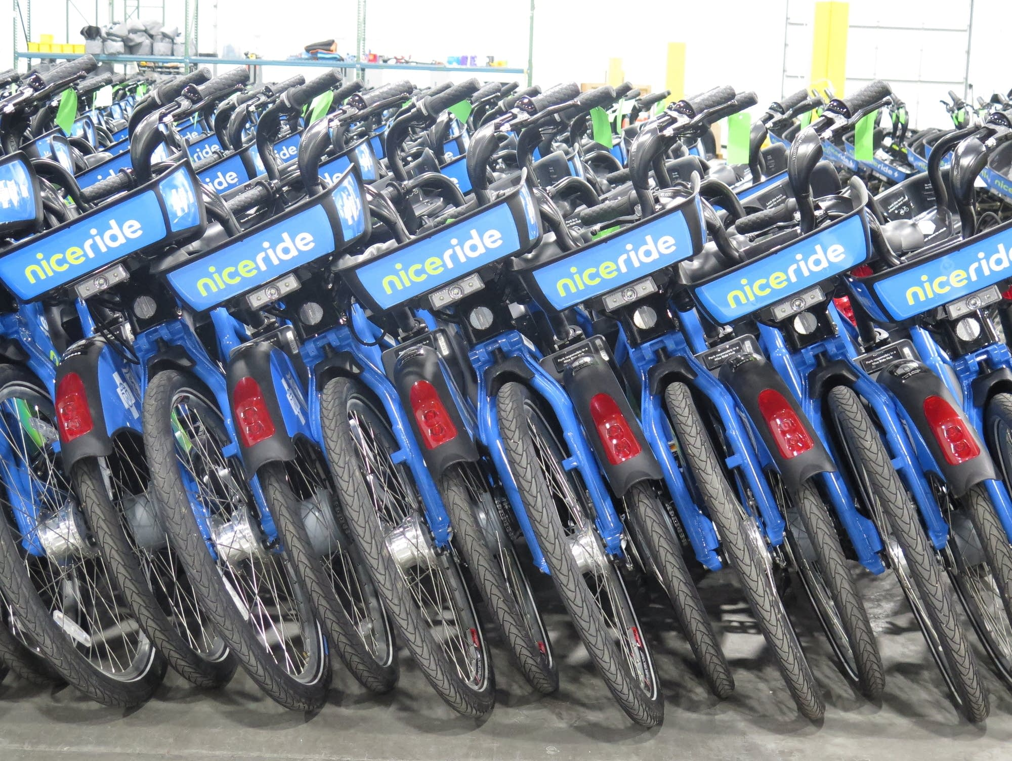 A fleet of 1,500 dockless bicycles is part of Nice Ride's fleet for 2019.