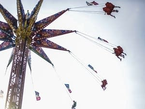 The high swings is a State Fair classic.