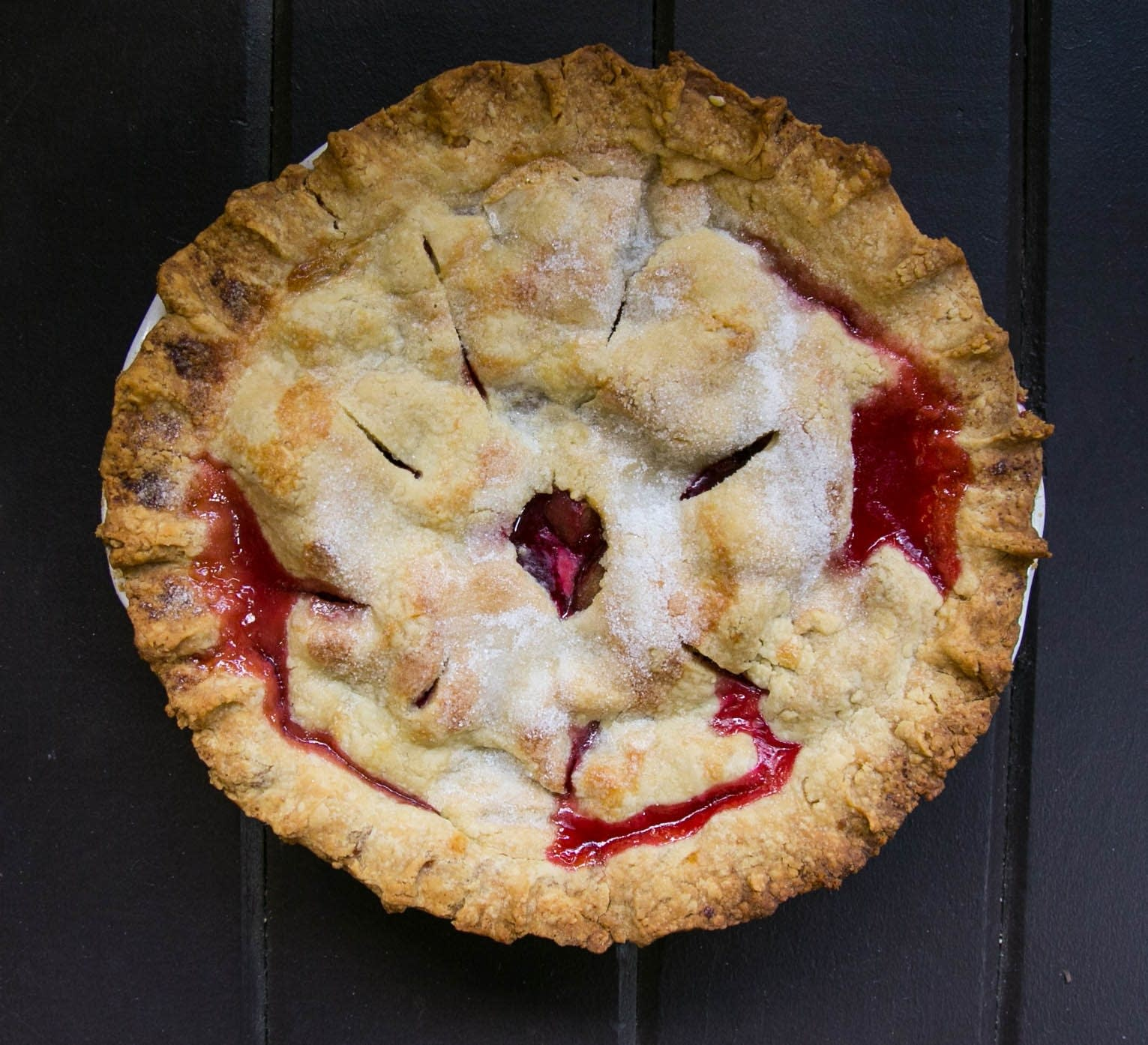 Plum Ginger Pie