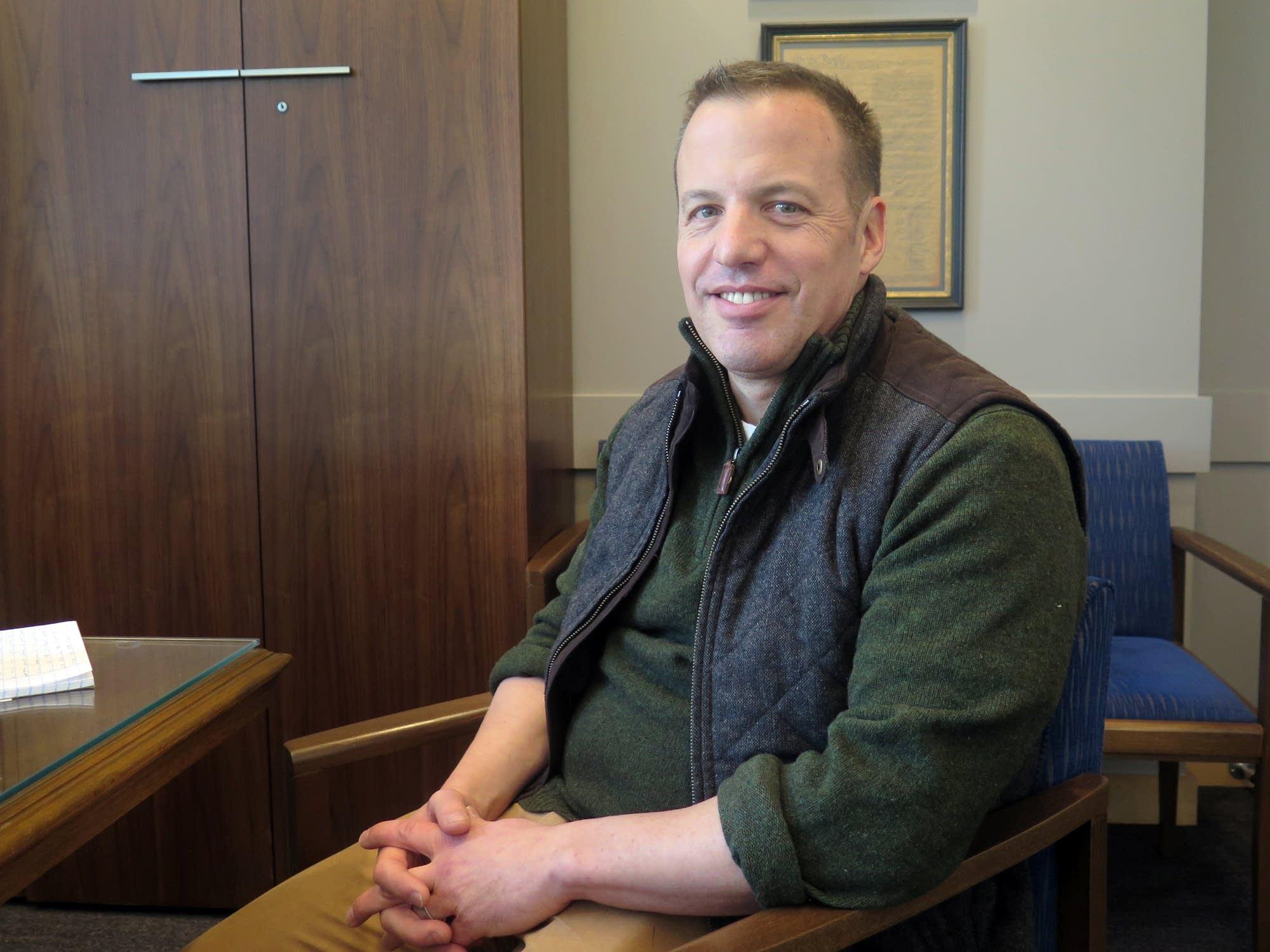 Sen. Matt Klein is an HCMC doctor.
