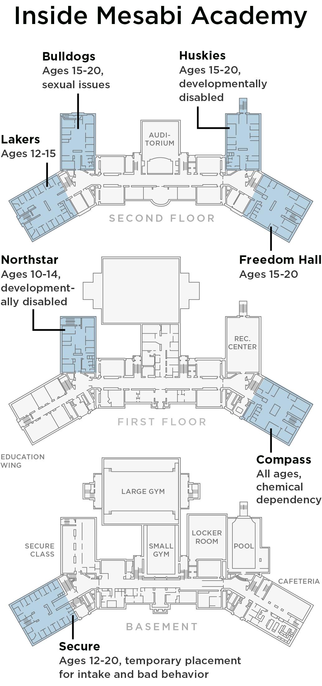 Mesabi Academy floor plan