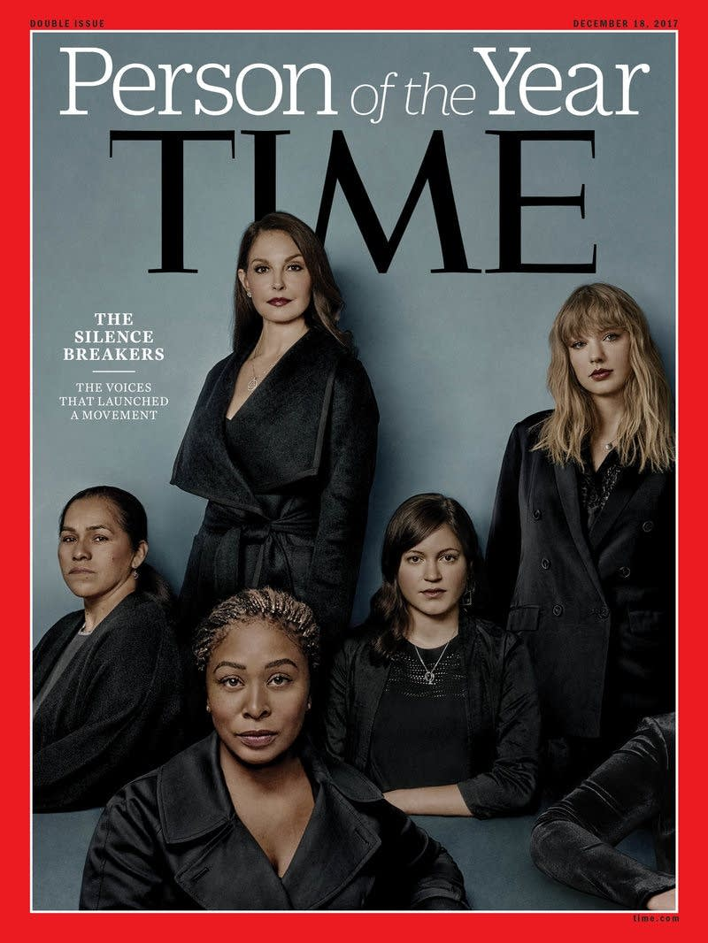 The Silence Breakers are Time's Person of the Year.