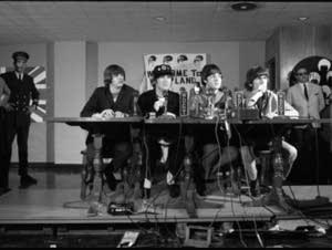 Beatles Concert. Metropolitan Stadium. August 1965