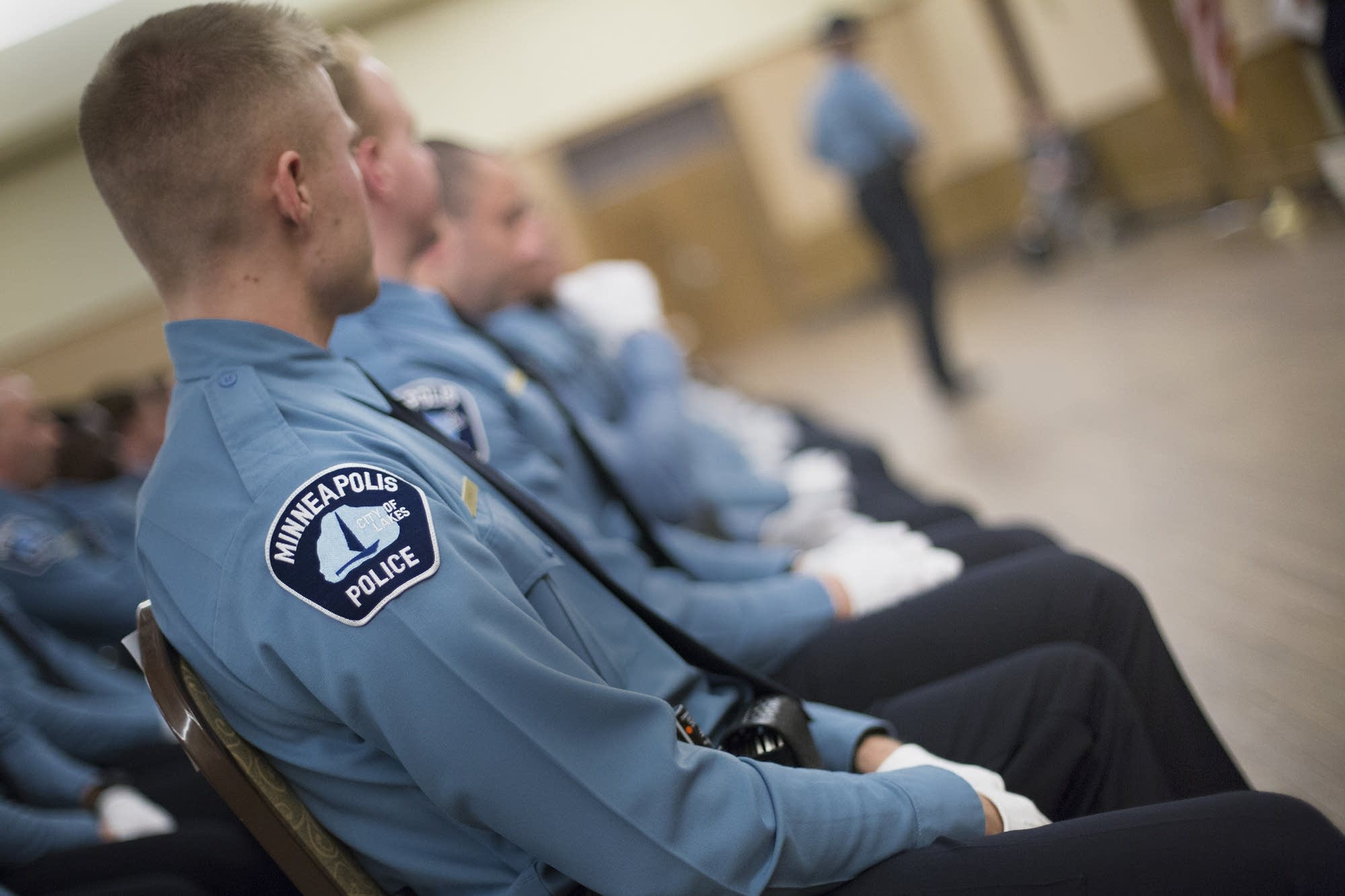 Minneapolis Police Department graduation ceremony