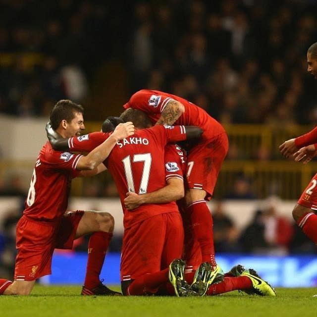 liverpool goal celebration