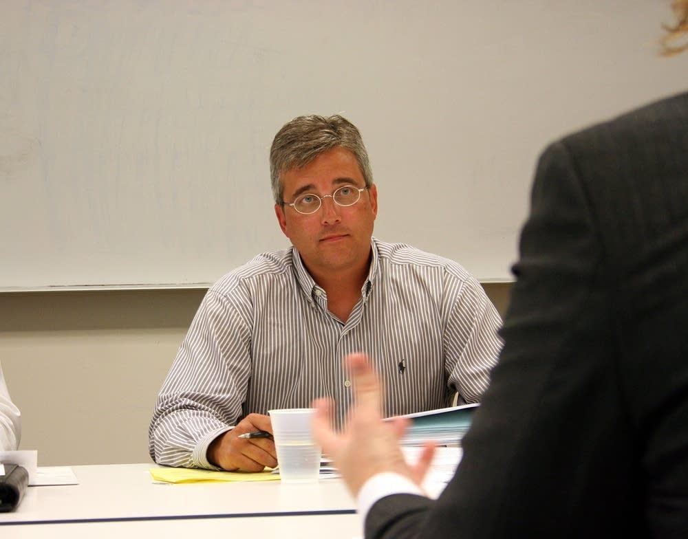 Lino Lakes Mayor Jeff Reinert