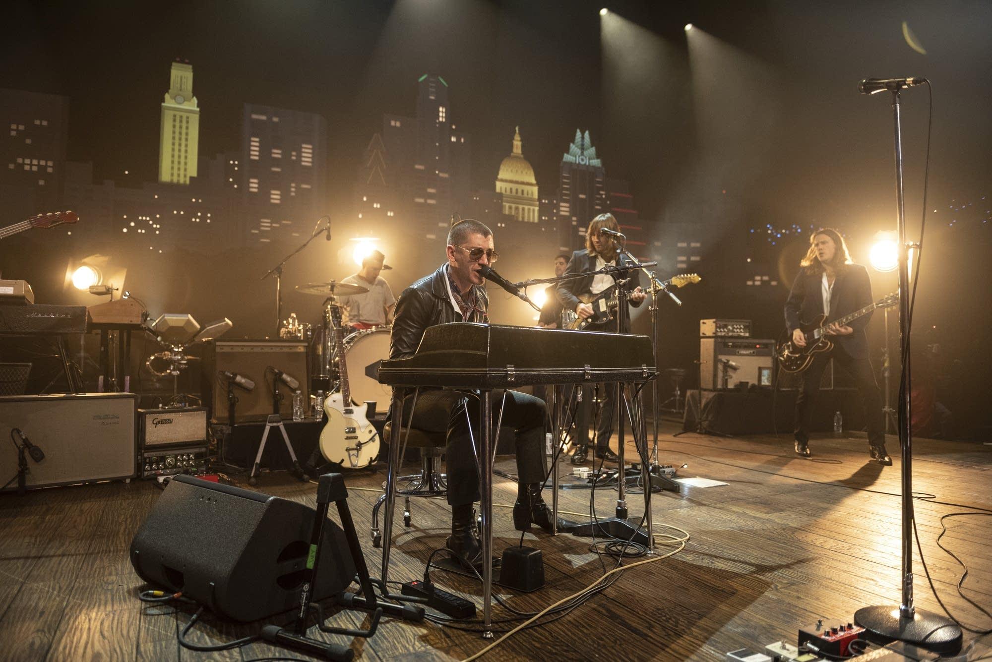 Arctic Monkeys perform on 'Austin City Limits'
