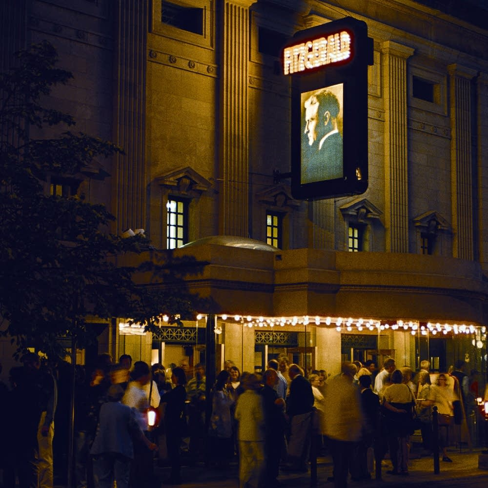 Fitzgerald Theater at night