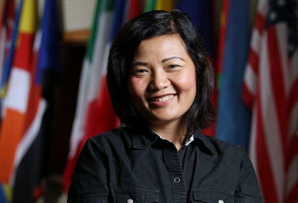 K'Pru Gold, social services coordinator