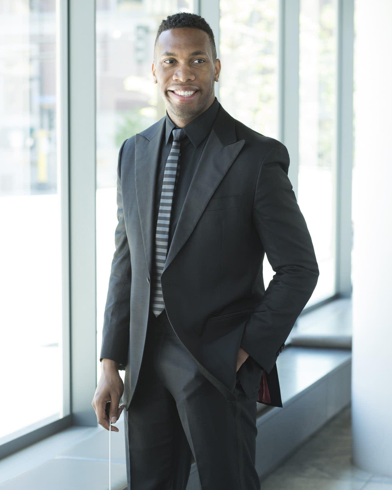 Minnesota Orchestra Associate Conductor Roderick Cox