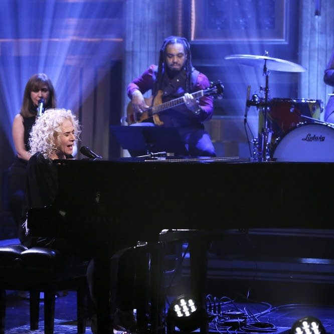 Carole King performs on 'The Tonight Show Starring Jimmy Fallon'