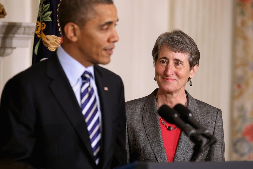 President Barack Obama, Sally Jewell