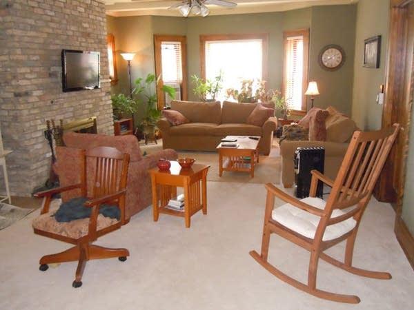 Rectory living room