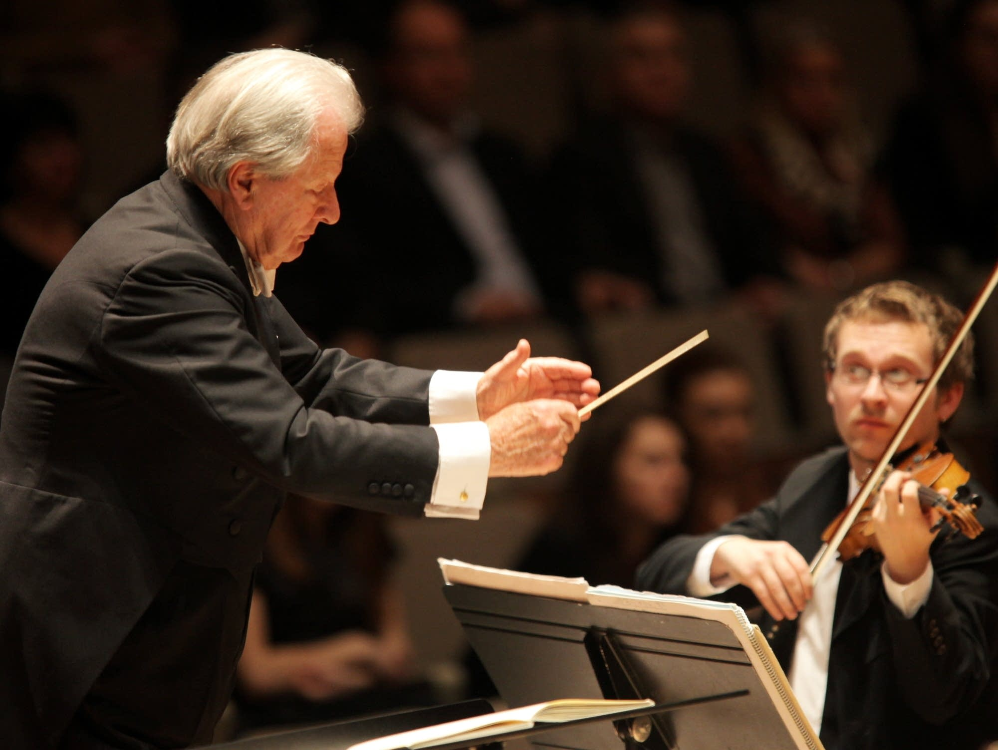 Conductor Neville Marriner