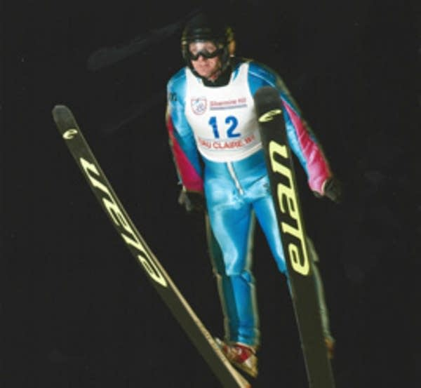 David Zarling's 90 meter jump