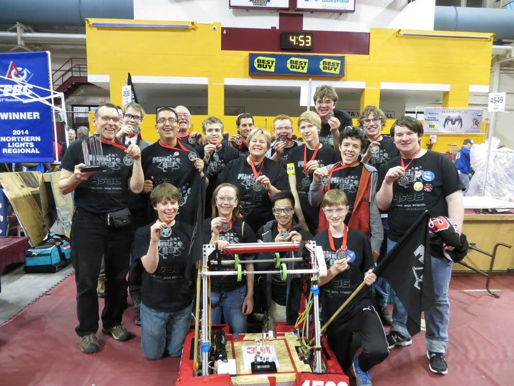 St. Paul Central Minutebots robotic team