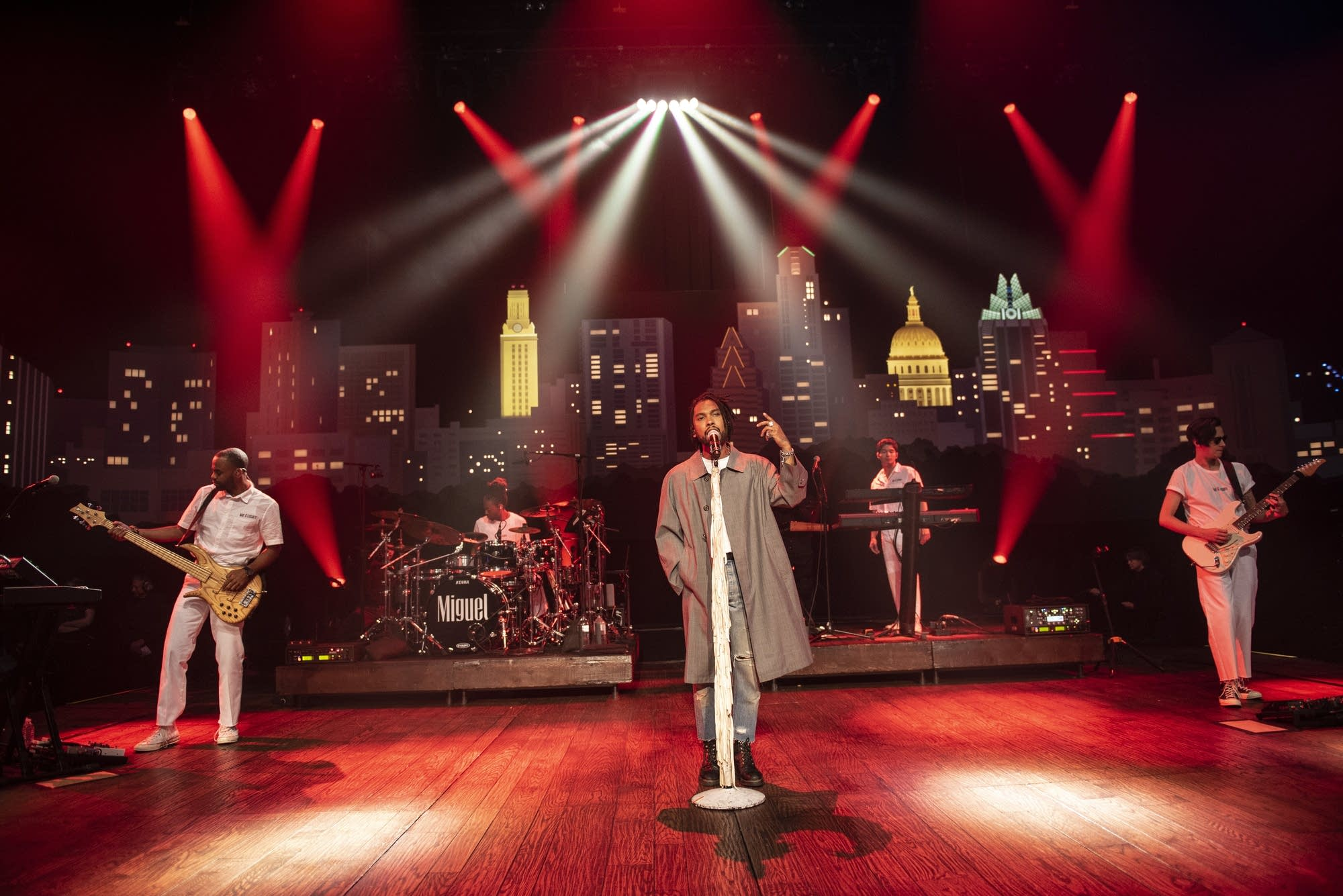 Miguel performs on 'Austin City Limits'