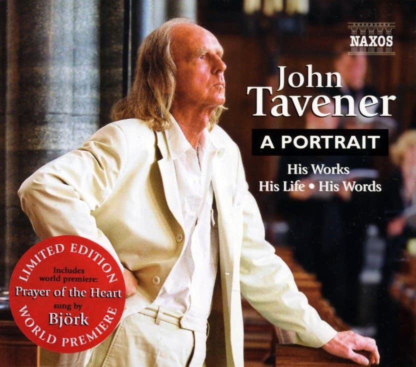 Cover of a 2004 John Tavener collection