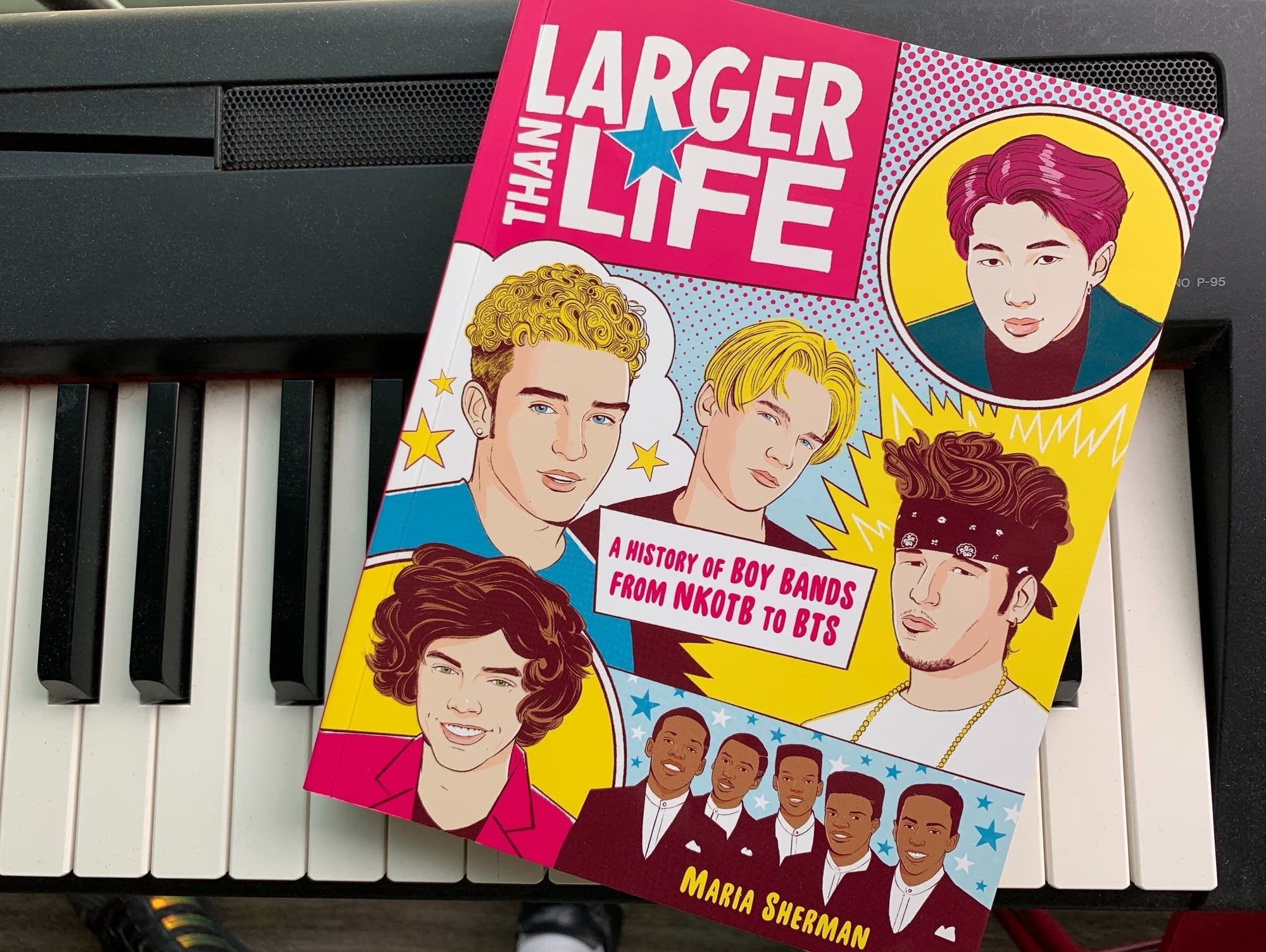 'Larger Than Life: A History of Boy Bands from NKOTB to BTS.'