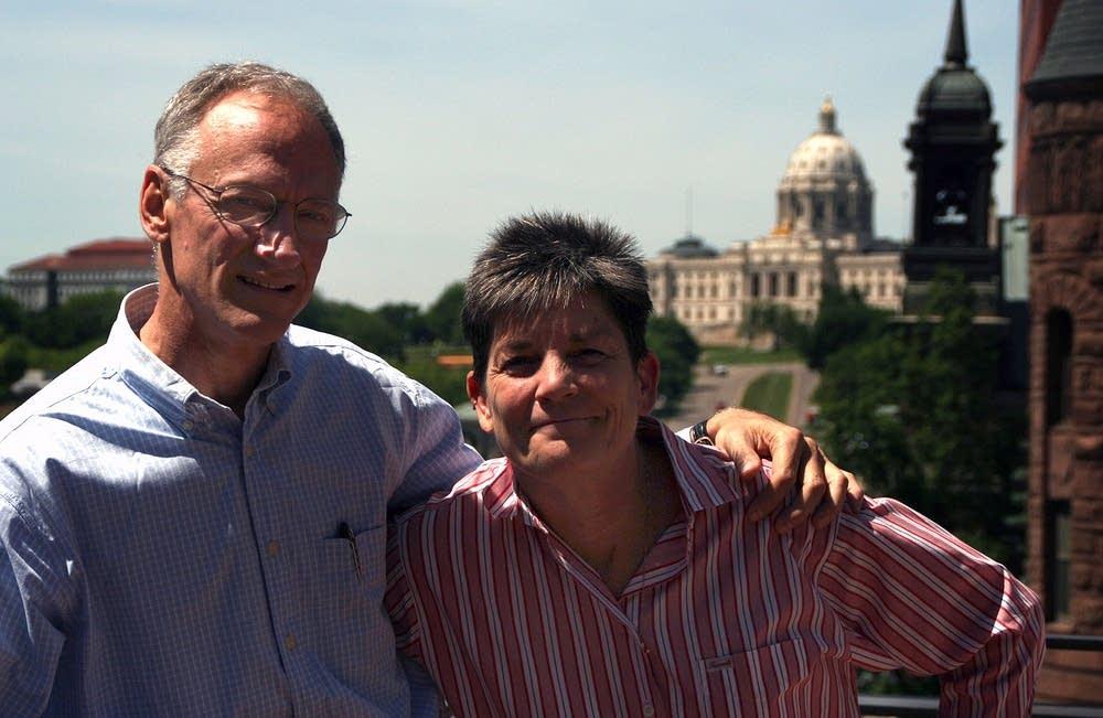 Phil Saviano, Susan Pavlak