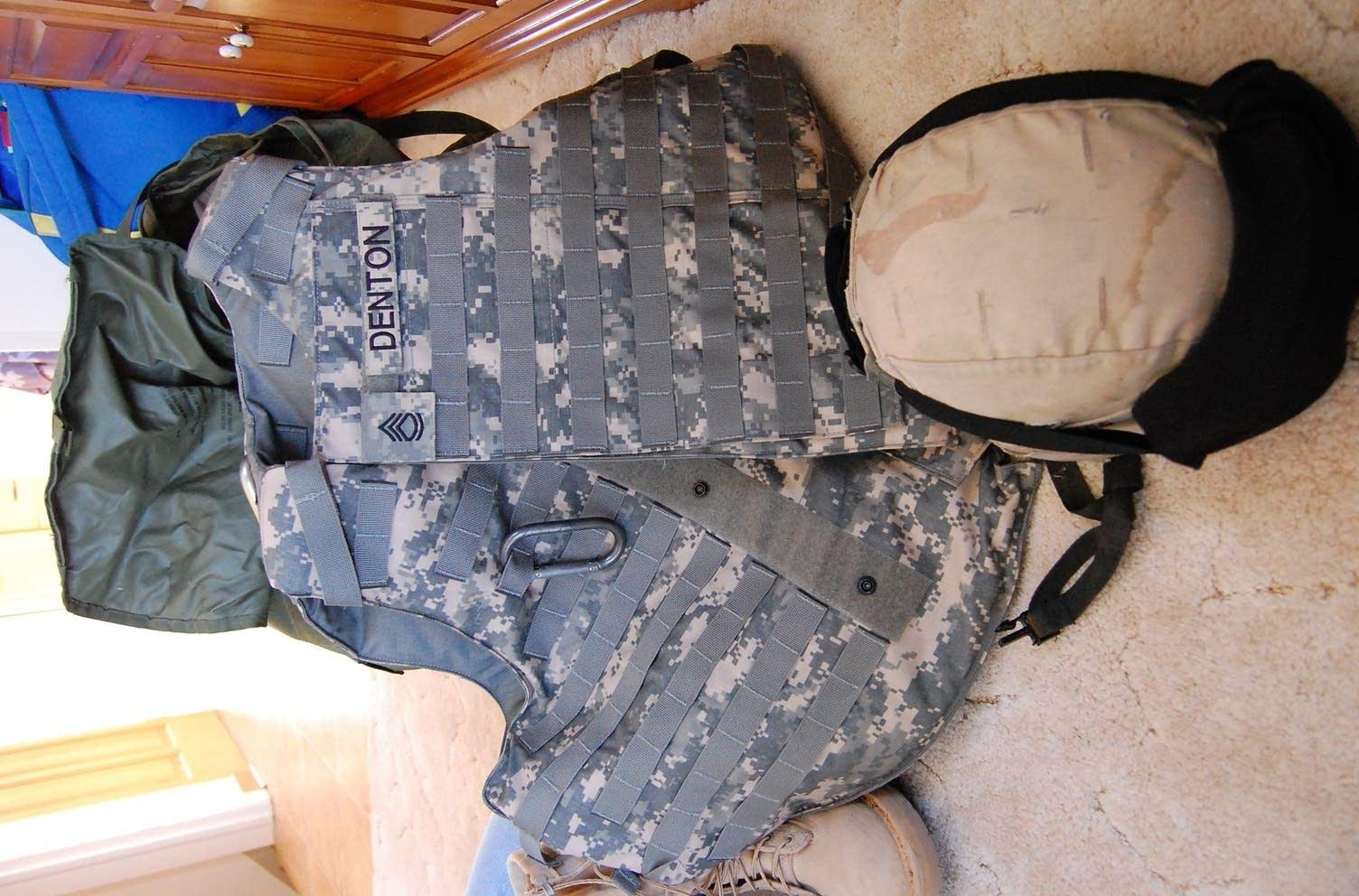 Sgt. Denton's rucksack