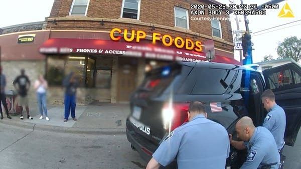 Screenshot from body camera.