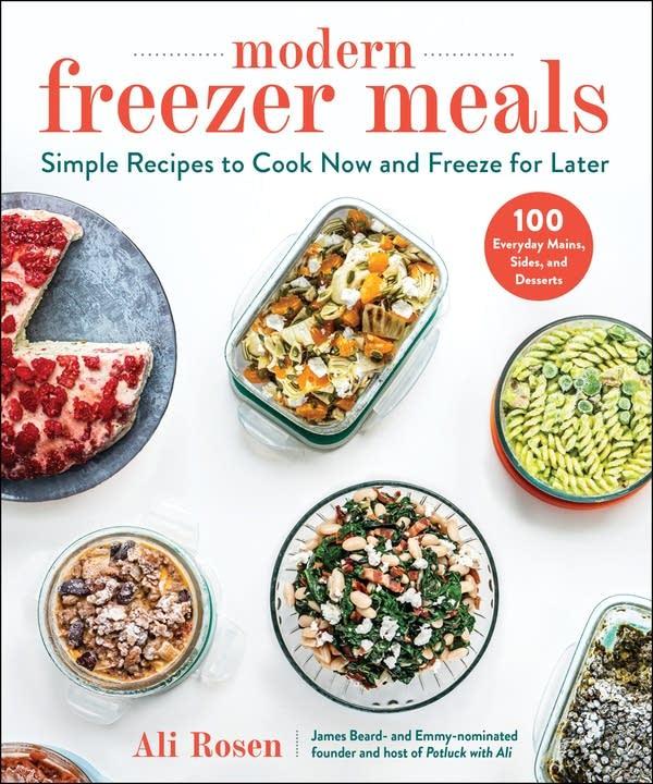 modern freezer meal bookcover