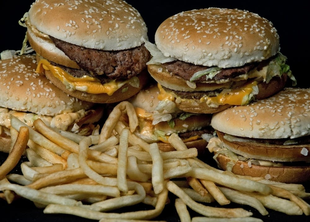 McDonald's Big Mac and French fries
