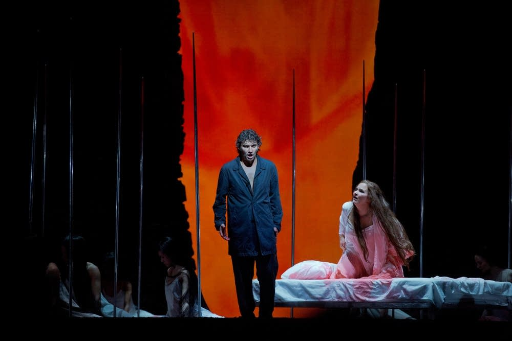 Kaufmann as Parsifal and Dalayman as Kundry