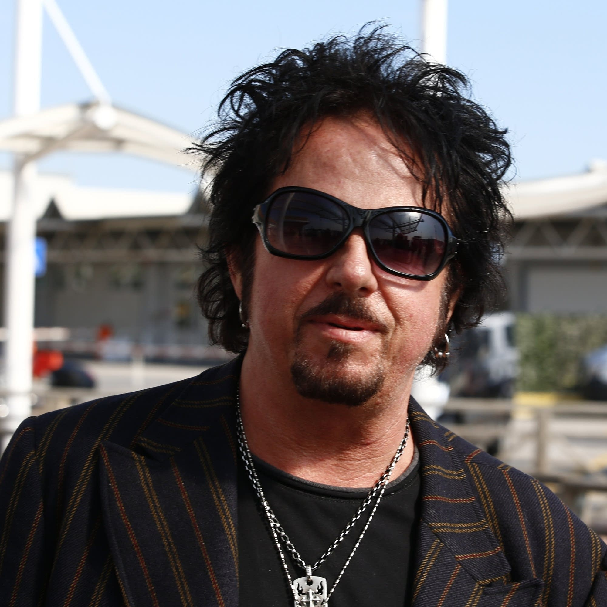 Steve Lukather in Venice, 2014.