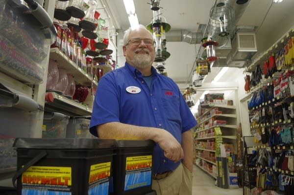 Andy McRae, assistant manager of Frattallone's ACE Hardware.