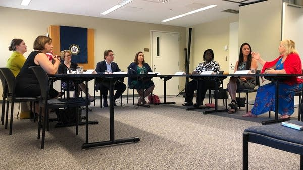 Sex trafficking panel discussion with Minnesota U.S. House Rep. Dean Phillips