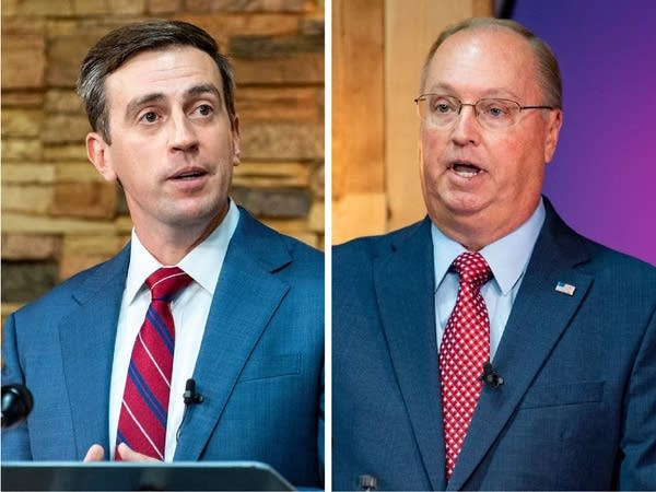 Minnesota's 1st District candidates Dan Feehan and Jim Hagedorn