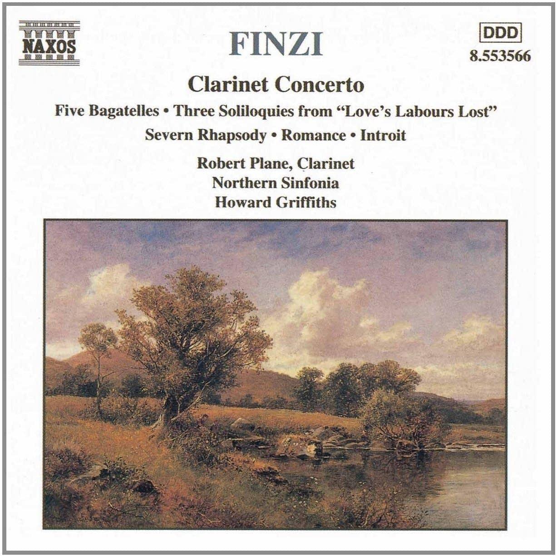 Gerald Finzi - Clarinet Concerto: Adagio, ma senza rigore