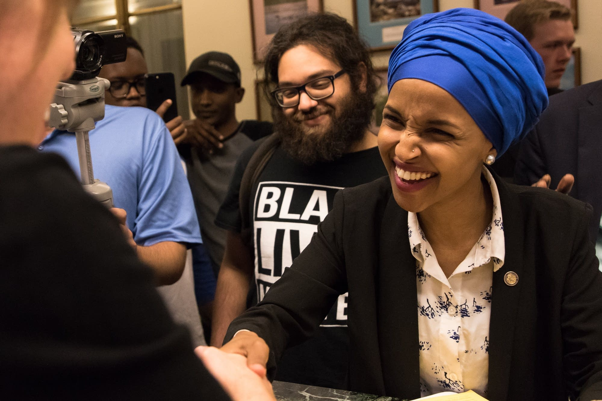 State Rep. Ilhan Omar files to run for congress.