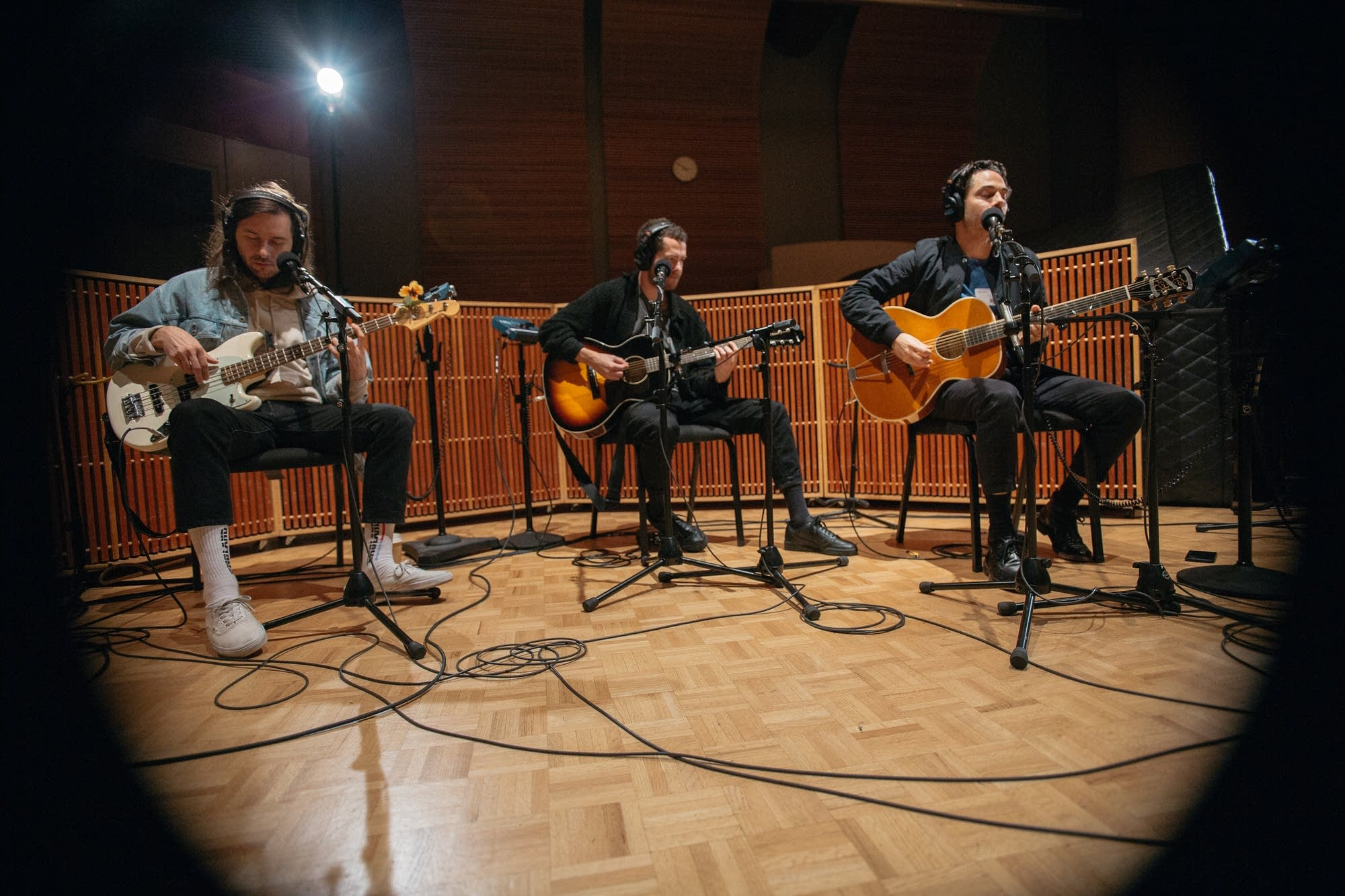 Local Natives perform in The Current studio