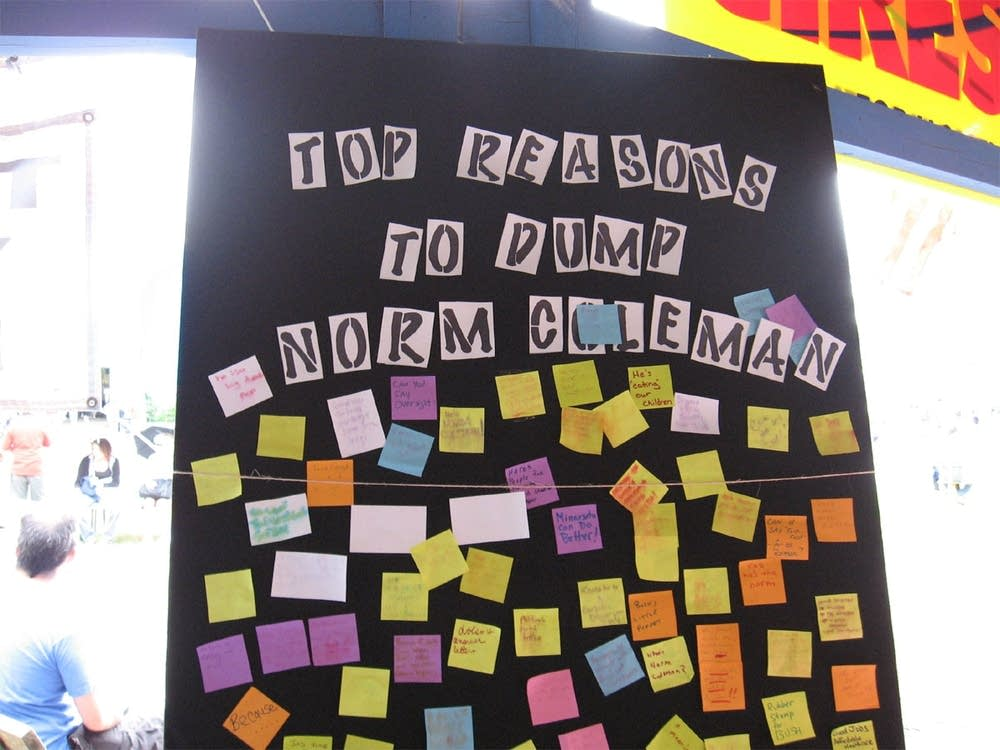 Dump Coleman list