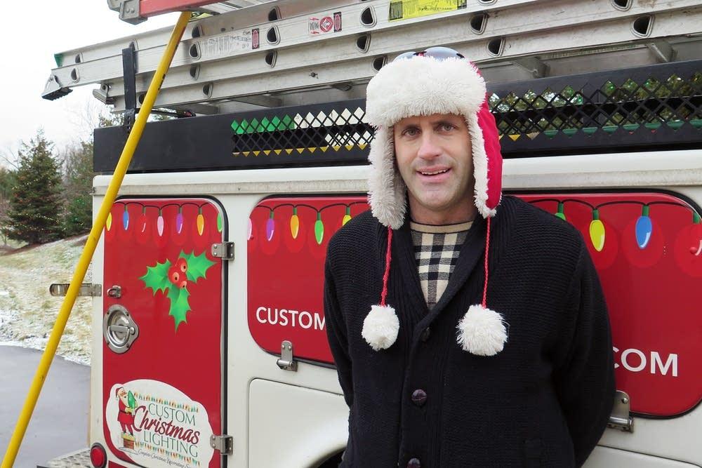 Rob Schlosser, owner of Custom Christmas Lighting