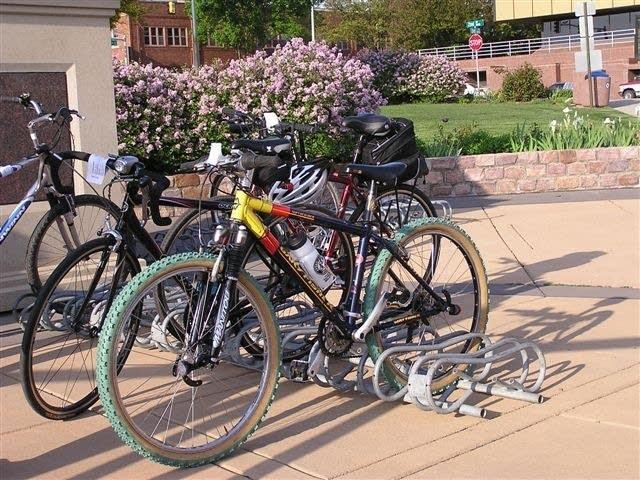 Downtown bikes