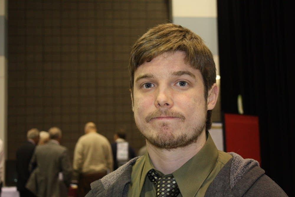 City administrator Jeremy Germann