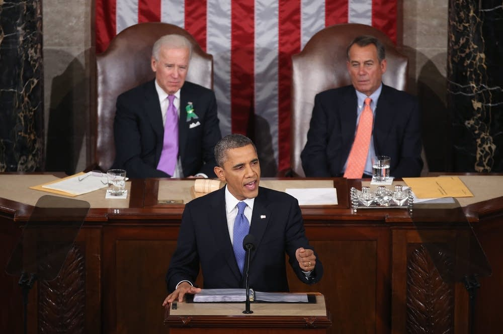 President Obama Delivers State Of The Union Addres