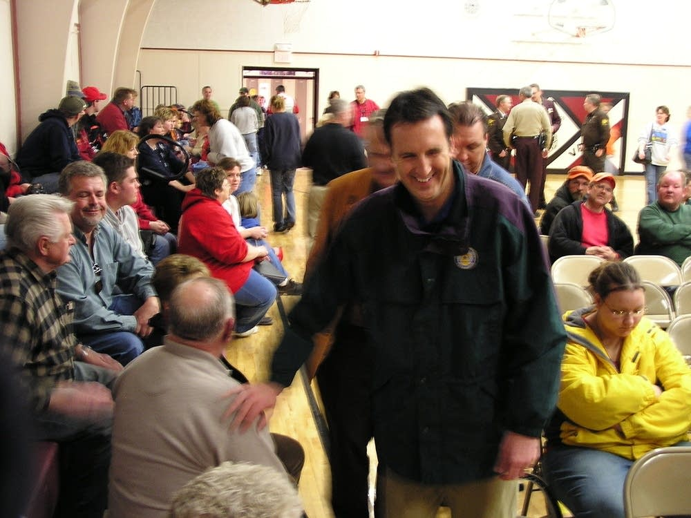Pawlenty in Browns Valley