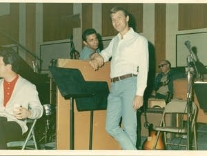 Glen Campbell and Hal Blaine in 'The Wrecking Crew'