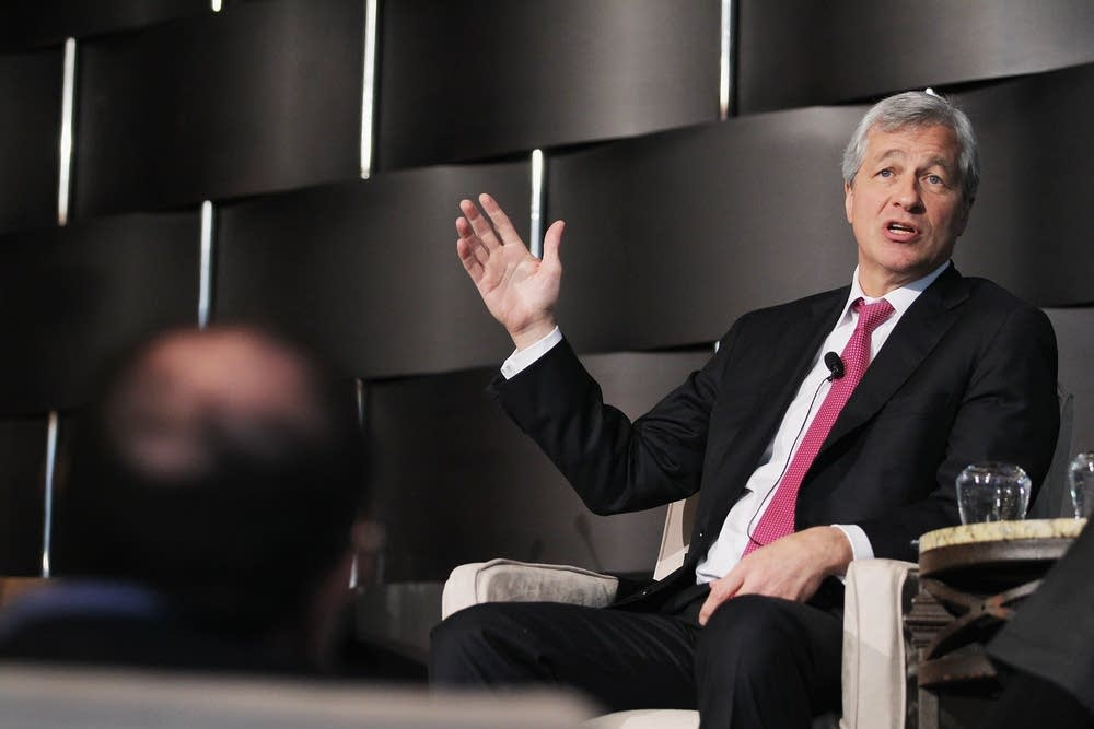 JPMorgan Chase CEO James Dimon Speaks At Annual Si