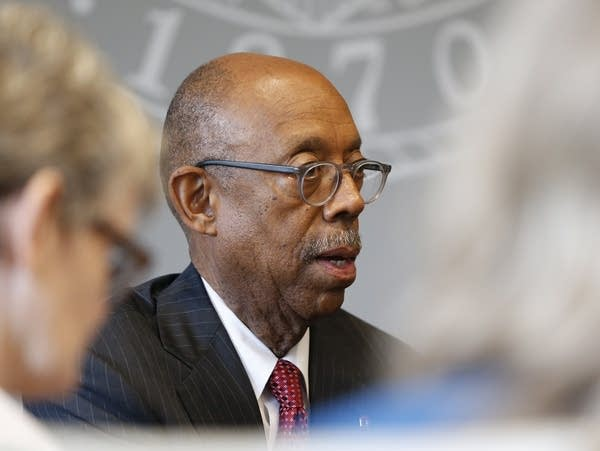 Ohio State University president Michael Drake