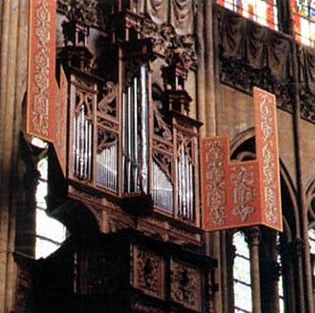 1981 Garnier organ at Metz Cathedral, France