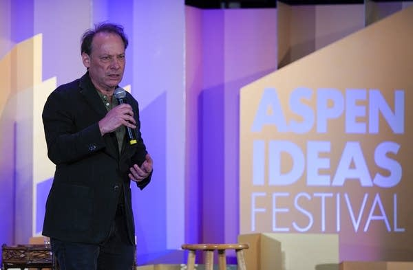 Adam Gopnik at the Aspen Ideas Festival.