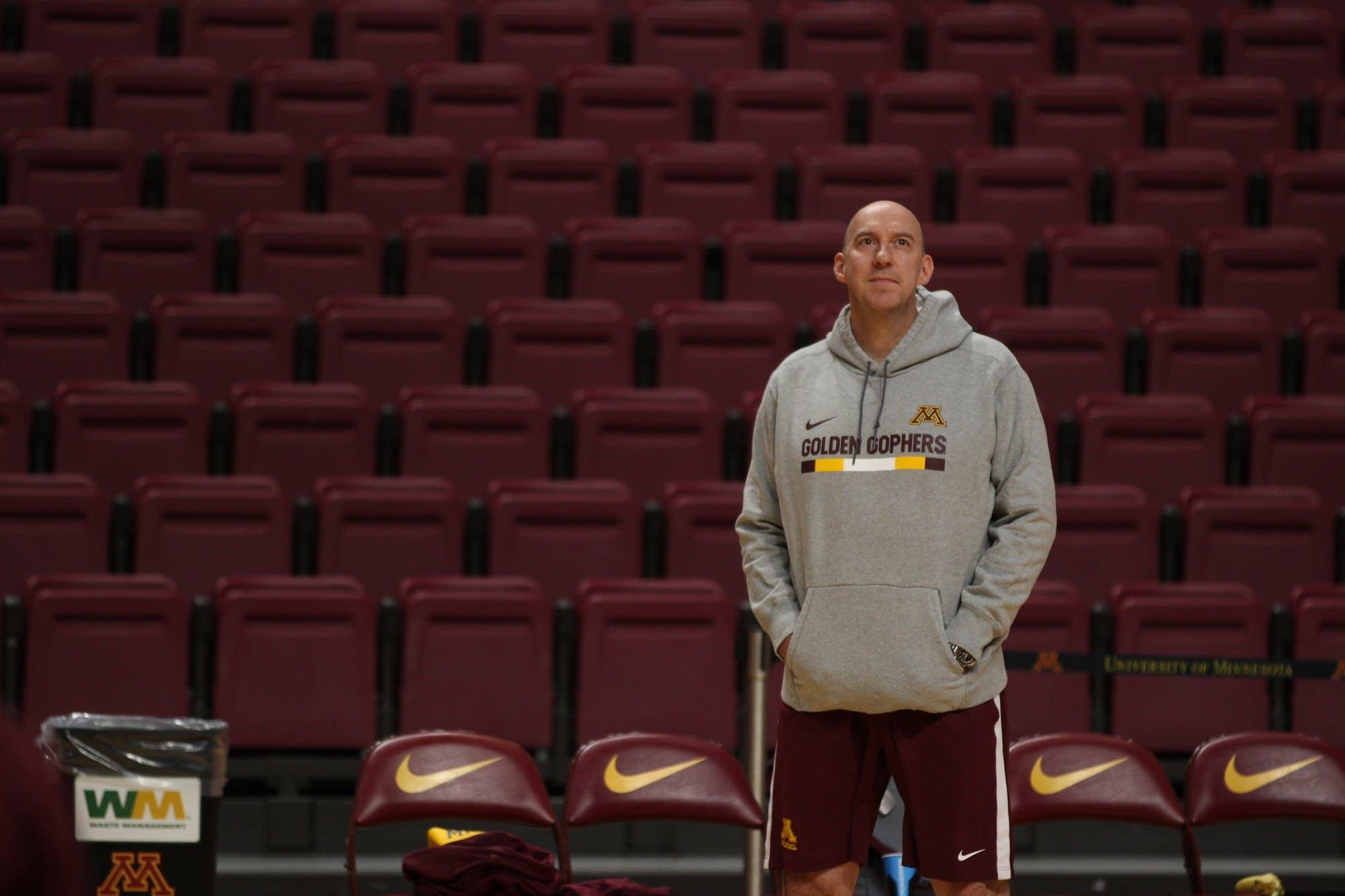 University of Minnesota Head Women's Volleyball Coach Hugh McCutcheon